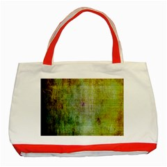 Grunge texture               Classic Tote Bag (Red)