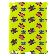 Camera pattern          Apple iPad 3/4 Hardshell Case (Compatible with Smart Cover)
