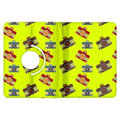 Camera pattern          Kindle Fire HD (2013) Flip 360 Case