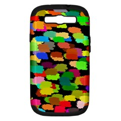 Colorful paint on a black background           Apple Seamless iPhone 5 Case (Color)