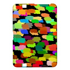 Colorful paint on a black background           Samsung Galaxy Premier I9260 Hardshell Case