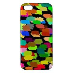 Colorful paint on a black background           Samsung Galaxy Note 3 Leather Folio Case