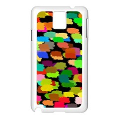 Colorful paint on a black background           Apple iPhone 5C Seamless Case (White)