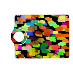 Colorful paint on a black background           Samsung Galaxy Note 3 Soft Edge Hardshell Case