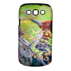 Woodpecker At Forest Pecking Tree, Patagonia, Argentina Samsung Galaxy S III Classic Hardshell Case (PC+Silicone)