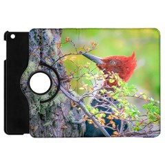 Woodpecker At Forest Pecking Tree, Patagonia, Argentina Apple iPad Mini Flip 360 Case