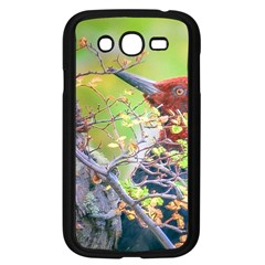 Woodpecker At Forest Pecking Tree, Patagonia, Argentina Samsung Galaxy Grand DUOS I9082 Case (Black)