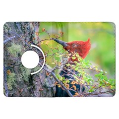 Woodpecker At Forest Pecking Tree, Patagonia, Argentina Kindle Fire HDX Flip 360 Case