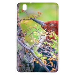 Woodpecker At Forest Pecking Tree, Patagonia, Argentina Samsung Galaxy Tab Pro 8.4 Hardshell Case