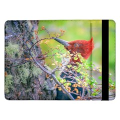 Woodpecker At Forest Pecking Tree, Patagonia, Argentina Samsung Galaxy Tab Pro 12.2  Flip Case