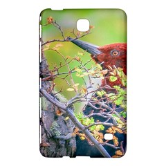 Woodpecker At Forest Pecking Tree, Patagonia, Argentina Samsung Galaxy Tab 4 (7 ) Hardshell Case