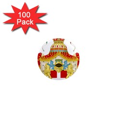 Coat Of Arms Of The Kingdom Of Italy 1  Mini Magnets (100 Pack)