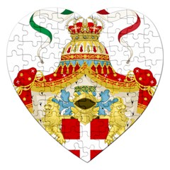 Coat of Arms of The Kingdom of Italy Jigsaw Puzzle (Heart)