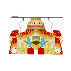 Coat of Arms of The Kingdom of Italy Cosmetic Bag (Large)