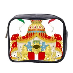 Coat of Arms of The Kingdom of Italy Mini Toiletries Bag 2-Side