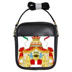 Coat of Arms of The Kingdom of Italy Girls Sling Bags