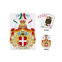 Coat of Arms of The Kingdom of Italy Playing Cards (Mini)