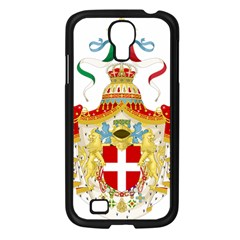 Coat of Arms of The Kingdom of Italy Samsung Galaxy S4 I9500/ I9505 Case (Black)