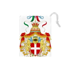 Coat of Arms of The Kingdom of Italy Drawstring Pouches (Small)
