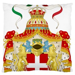 Coat of Arms of The Kingdom of Italy Standard Flano Cushion Case (Two Sides)