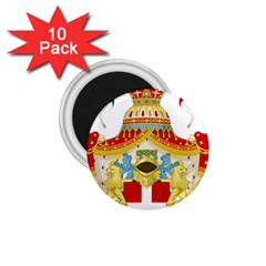 Coat of Arms of The Kingdom of Italy 1.75  Magnets (10 pack)