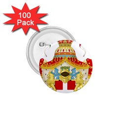 Coat of Arms of The Kingdom of Italy 1.75  Buttons (100 pack)