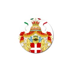 Coat of Arms of The Kingdom of Italy Golf Ball Marker