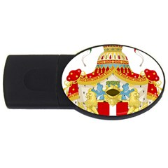 Coat of Arms of The Kingdom of Italy USB Flash Drive Oval (2 GB)