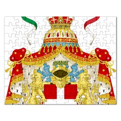 Coat of Arms of The Kingdom of Italy Rectangular Jigsaw Puzzl