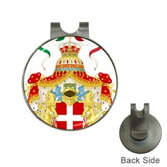 Coat of Arms of The Kingdom of Italy Hat Clips with Golf Markers