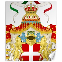 Coat of Arms of The Kingdom of Italy Canvas 20  x 24