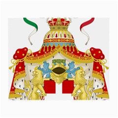 Coat of Arms of The Kingdom of Italy Small Glasses Cloth (2-Side)