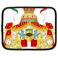 Coat of Arms of The Kingdom of Italy Netbook Case (Large)
