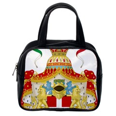 Coat of Arms of The Kingdom of Italy Classic Handbags (One Side)