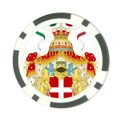 Coat of Arms of The Kingdom of Italy Poker Chip Card Guard (10 pack)