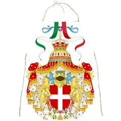 Coat of Arms of The Kingdom of Italy Full Print Aprons