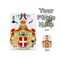 Coat of Arms of The Kingdom of Italy Playing Cards 54 (Mini)