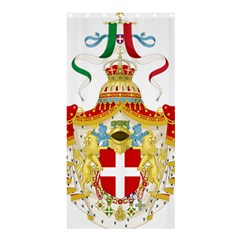 Coat of Arms of The Kingdom of Italy Shower Curtain 36  x 72  (Stall)