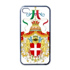 Coat of Arms of The Kingdom of Italy Apple iPhone 4 Case (Black)
