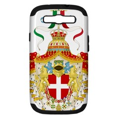 Coat of Arms of The Kingdom of Italy Samsung Galaxy S III Hardshell Case (PC+Silicone)