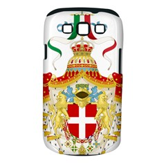Coat of Arms of The Kingdom of Italy Samsung Galaxy S III Classic Hardshell Case (PC+Silicone)