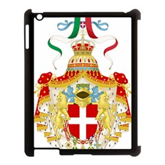 Coat of Arms of The Kingdom of Italy Apple iPad 3/4 Case (Black)