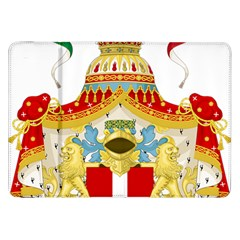 Coat of Arms of The Kingdom of Italy Samsung Galaxy Tab 8.9  P7300 Flip Case