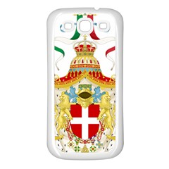 Coat of Arms of The Kingdom of Italy Samsung Galaxy S3 Back Case (White)