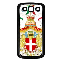 Coat of Arms of The Kingdom of Italy Samsung Galaxy S3 Back Case (Black)