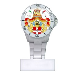 Coat of Arms of The Kingdom of Italy Plastic Nurses Watch