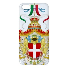 Coat of Arms of The Kingdom of Italy iPhone 5S/ SE Premium Hardshell Case