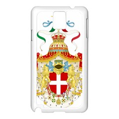 Coat of Arms of The Kingdom of Italy Samsung Galaxy Note 3 N9005 Case (White)