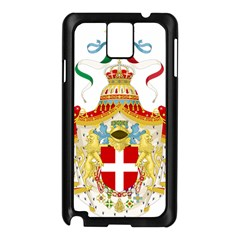 Coat of Arms of The Kingdom of Italy Samsung Galaxy Note 3 N9005 Case (Black)