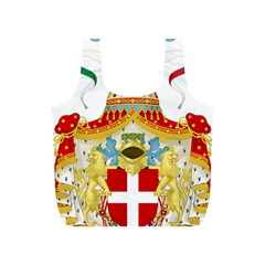 Coat of Arms of The Kingdom of Italy Full Print Recycle Bags (S)